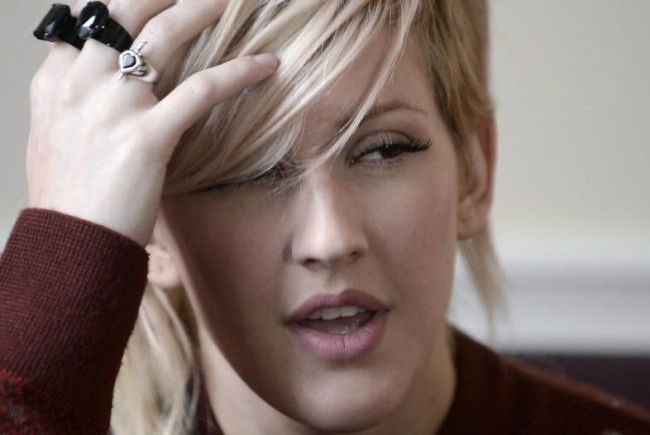Ellie Goulding im Interview in Wien.