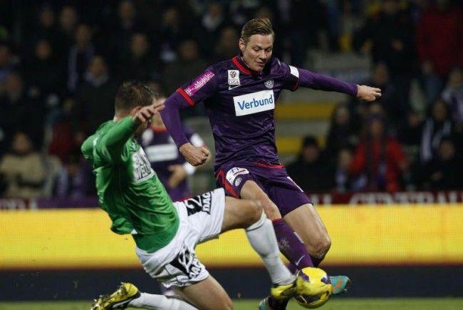 Austria Wien setzte sich gegen Mattersburg zum Herbstmeister durch.