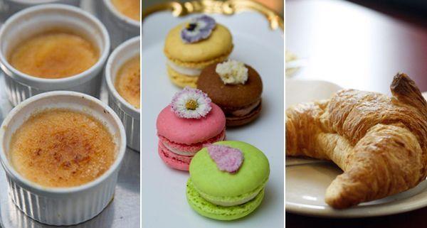 Crème Brûlée, Macarons und Croissants: Die süße Seite der französischen Küche kommt besonders gut an.