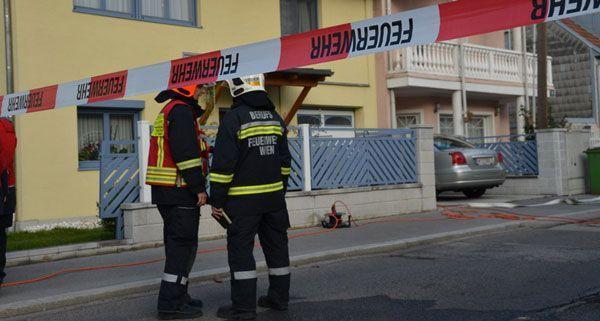 Die Gasblase in einem Wohnhaus sorgte für viel Trubel in Wien-Favoriten.