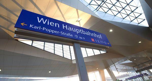 Die Stationen rund um den neuen Wiener Hauptbahnhof werden unterschiedlich benannt.