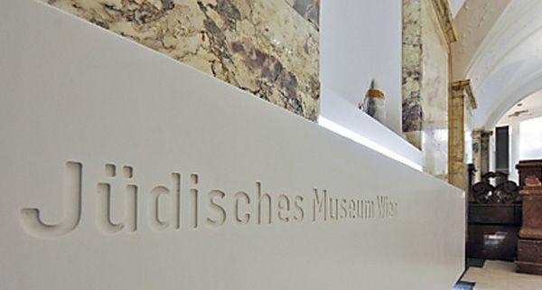 Auch im jüdischen Museum in Wien gedenkt man am Freitag den Opfern der Pogrome.