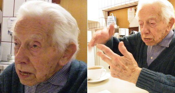 Alfred Klinger belegt seit 50 Jahren Malkurse an der Volkshochschule Wien.