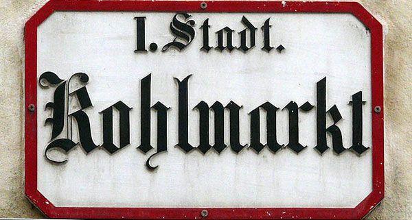 Der Wiener Kohlmarkt gehört zu den teuersten Einkaufsstraßen der Welt.