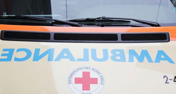 Vater und Tochter wurden am Montag in Wien-Liesing bei einem Unfall schwer verletzt.