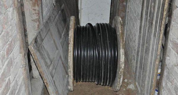 Im Keller eines Gemeindebaus in Wien-Favoriten wurden die Beamten fündig.