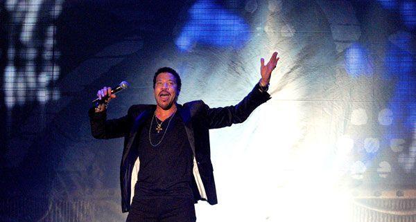 Lionel Richie begeisterte seine fans am Donnerstagabend in der Wiener Stadthalle.