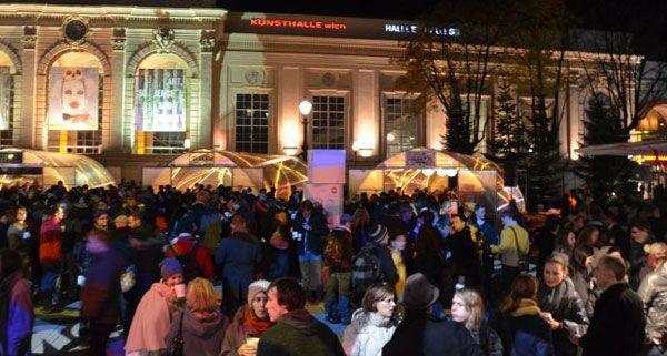 Am Donnerstag wurde im Museumsquartier das Winter Opening gefeiert.