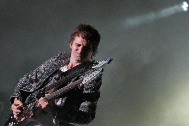Muse live: Matt Bellamy und seine Mannen tobten sich in Wien aus.