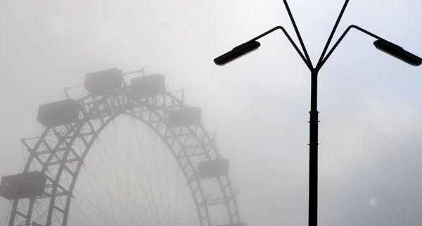 Nebel und Sonne wechseln sich in der kommenden Woche ab, wobei vermutlich der Nebel überwiegt.