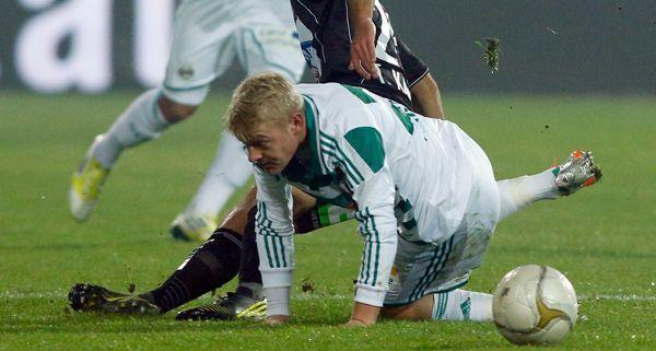 2:1 für Sturm Graz lautete der Endstand in der UPC-Arena am Samstagabend.