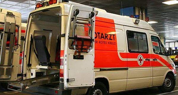Schwerer Arbeitsunfall in Wien-Penzing am Montag.