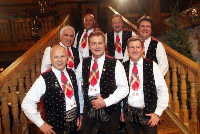 """Die """"Spatzen"""" waren am Samstag im Musikantenstadl zu Gast."""