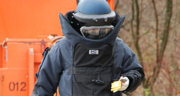In Niederösterreich wird nach dem Einsatz des Entschärfungsdiensts ermittelt.