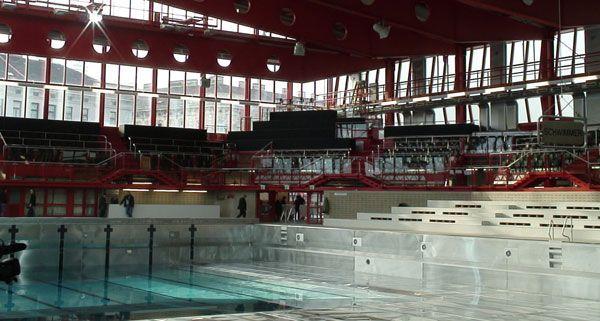 Das Sanierungsbudget des Wiener Stadthallenbads ist fast ausgeschöpft.