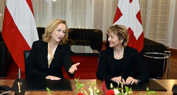 Im April wurde das Steuerabkommen zwischen Österreich und der Schweiz unterzeichnet.