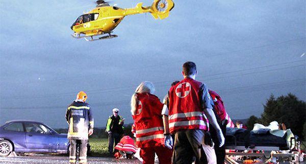 Tödlicher Verkehrsunfall auf Güterweg im Bezirk Amstetten