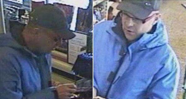 Die Polizei bittet nach einem Wechselbetrug um Hinweise auf den abgebildeten Mann.