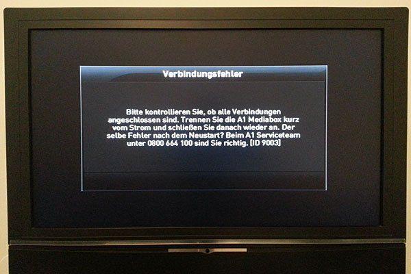 problème image tv