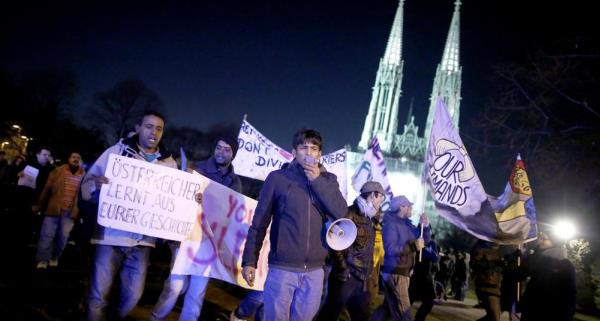 Am Mittwoch findet erneut eine Demo der Votivkirchen-Flüchtlinge statt.
