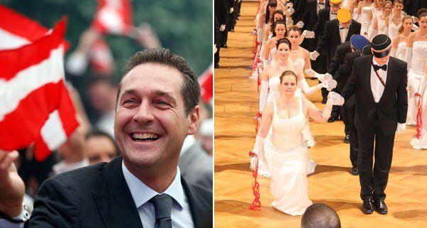 Parteichef Strache wird nicht am Akademikerball der FPÖ teilnehmen.