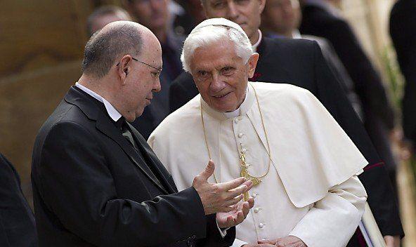 Noch bis 28. Februar ist Benedikt XVI. im Amt