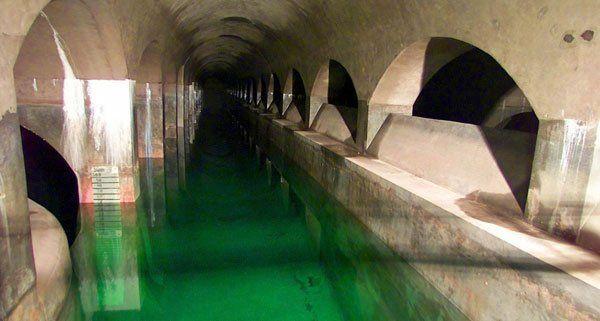 Zankapfel Wasser - im Bild: der Wasserbehälter Rosenhügel in Wien