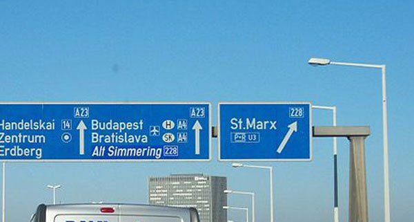 Die A23 ist die meistbefahrene Autobahn Österreichs.