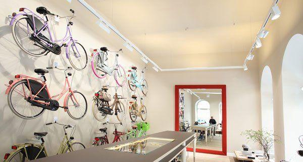 In der Karlsgasse gibt es jetzt einen Shop für Hollandräder.