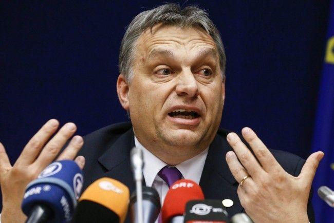 Orban lobt Gewalt-Protest gegen Flüchtlinge