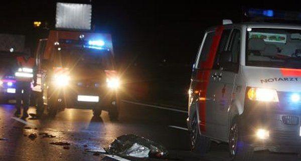 Der Unfall ereignete sich in der Nacht auf Samstag auf der A2.