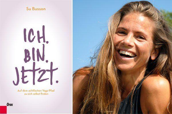"""Su Busson und ihr Buch """"Ich. Bin Jetzt."""""""