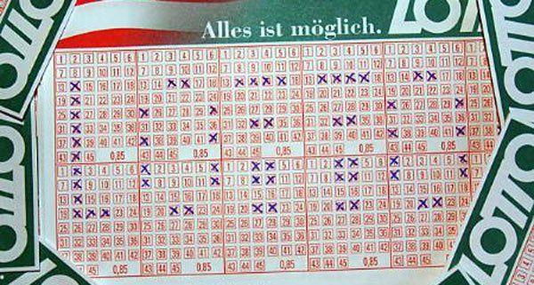 Lotto Zahlenkombination