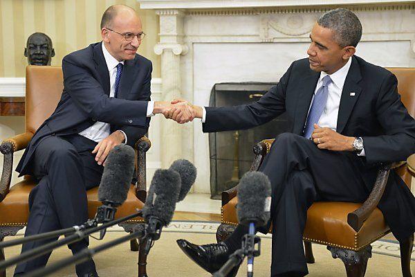 Letta war bei Obama zu Gast
