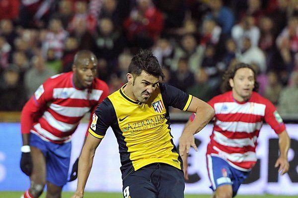David Villa traf vom Elferpunkt