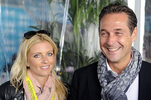Strache wieder Single - Trennung von Verlobter Andrea Eigner