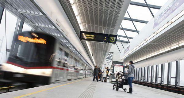 Erst im Oktober 2013 wurde die Linie U2 verlängert.