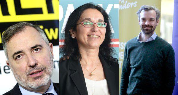 Bekannte Gesichter bei den Kleinparteien.