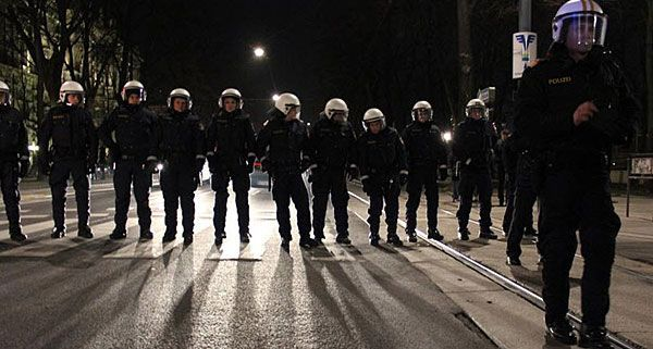 rechtes gedankengut bei der polizei