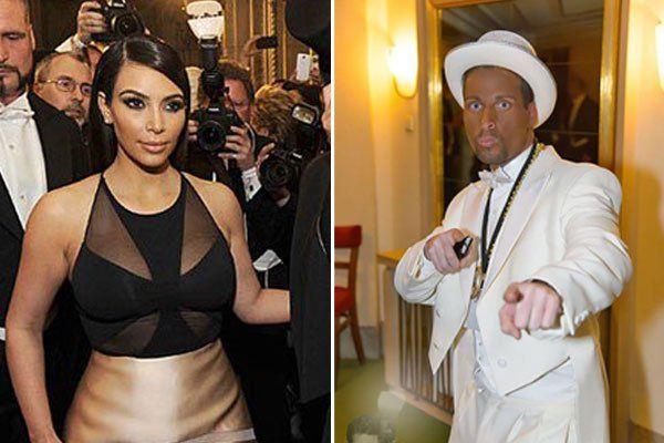 Wenig Vergnügen hatte Kardashian am Opernball