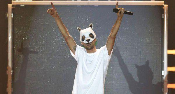 Der Panda ist los in der Wiener Stadthalle.