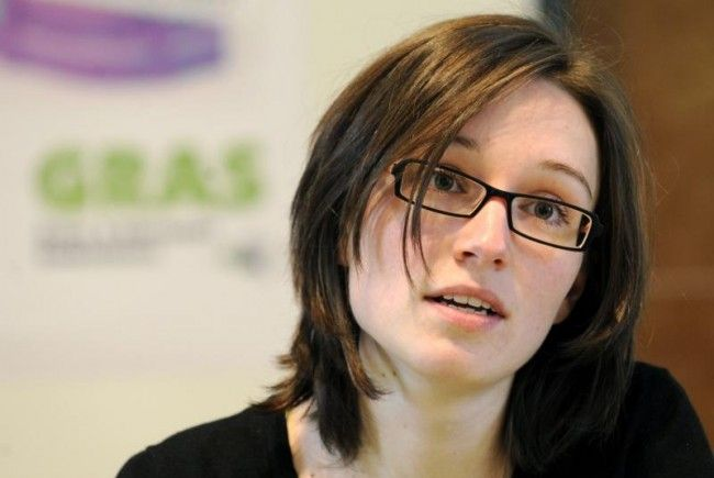Amtshandlung gegen die Grüne Nationalratsabgeordnete Sigrid Maurer.