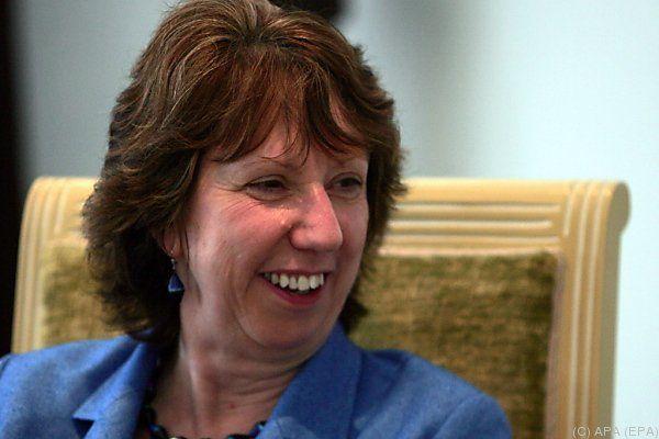 EU-Außenbeauftragte Catherine Asthon