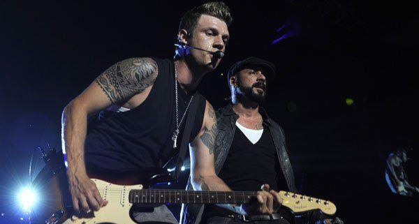 Nick Carter bewies, dass er nicht nur Boyband-Mitglied, sondern auch Musiker ist.