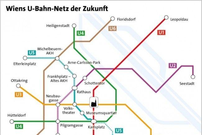 u Bahn Wien u5 u5 in Wien Wird Türkis