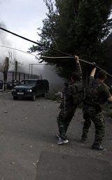 Russischer Militärkonvoi in Ukraine eingedrungen