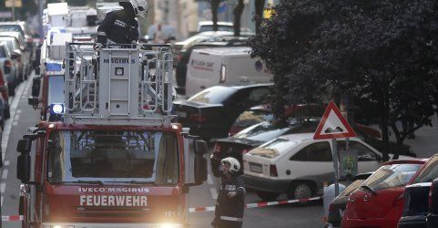 Gasexplosion in Margareten