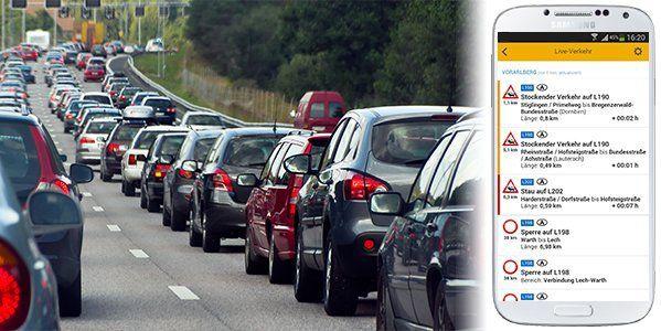 Verkehrs-Service für Vorarlberg: Hier sind die Straßen frei!