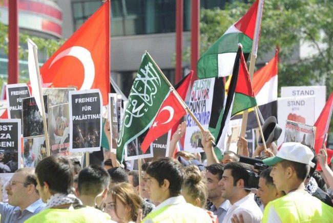Nahost-Konflikt: Pro-Palästinensische Demonstration In