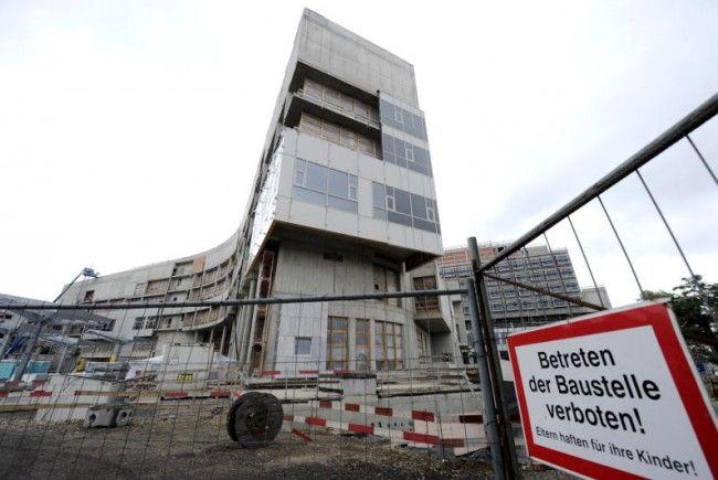 Krankenhaus Nord: Die Baustelle in Floridsdorf.